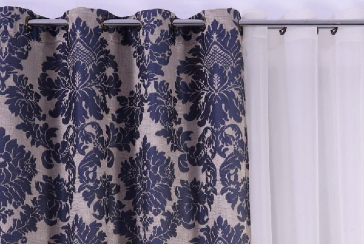 Draperia Midnight Blue - Rafinament Floral
